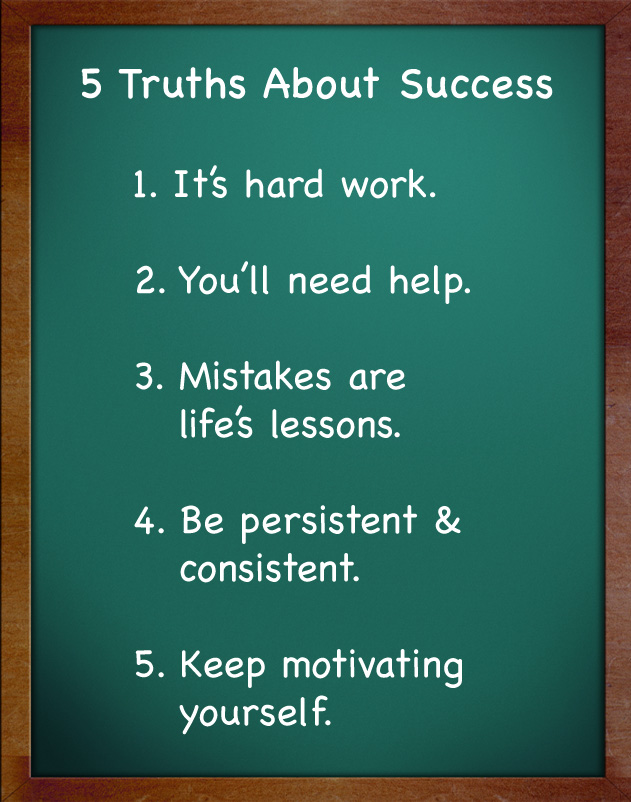 5 Truths About Success ~ Poster #success #truths #poster #taolife ...