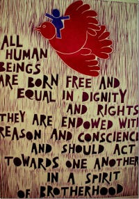 Article 1 - Universal Declaration of Human Rights #Poster