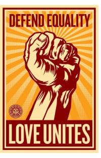 Defend equality - Love Unites