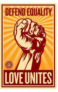 Defend equality - Love Unites
