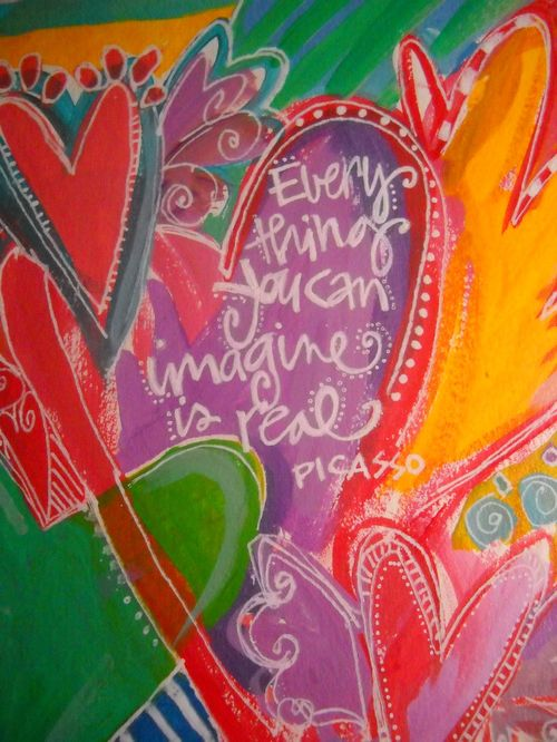 Everything you can imagine is real  ~ Pablo Picasso #quotes #taolife #posters