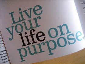 Live your life on purpose  ~   #taolife   #purpose  #quotes