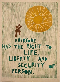 Right to liberty and security of person.