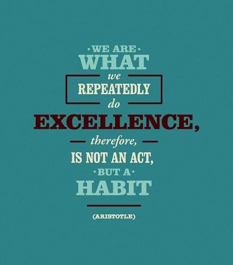 Excellence Habit Aristotle