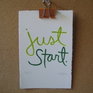 Just start ~  #success #quote #taolife